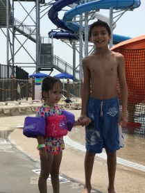Water Fun with Cousin Zoe
