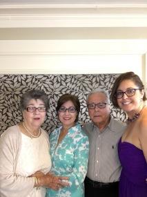 Carmen, Yoly, Egberto, Merari
