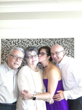 Egberto, Carmen (Mami & Papi) Keith and I
