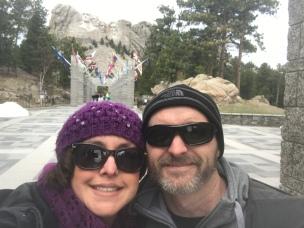 Mt. Rushmore (selfie)
