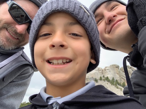 Selfie time at Mt. Rushmore
