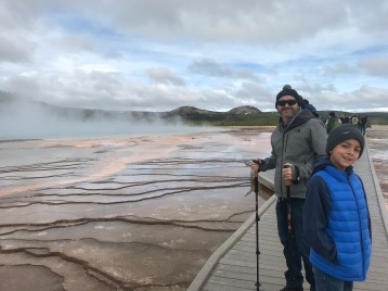 Grand Prismatic Spring - Ground Level