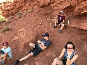 Ok so they do get tired of hiking !!!