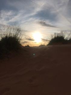 Sunset Coral Pink Dunes Kanab, UT