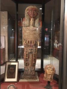 A Princess Coffin -woman like man receive mummification
