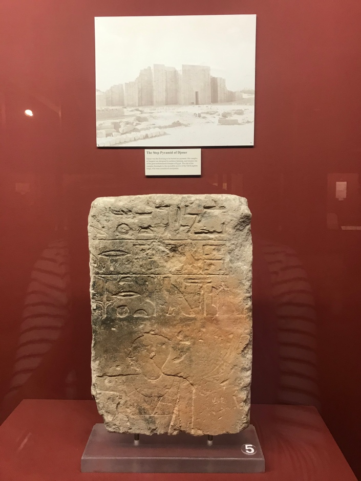 Capstone from Ancient Building